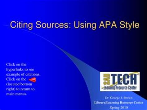 APA Style & Format Editing Tips for Dissertation & Thesis